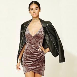 Forever 21 Velvet Mini Dress